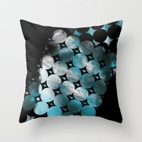 CircleTracts Throw Pillow