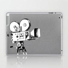 vintage filming Laptop & iPad Skin