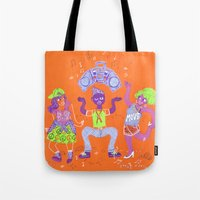 Bust A Move Tote Bag