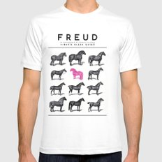 FREUD Mens Fitted Tee SMALL White