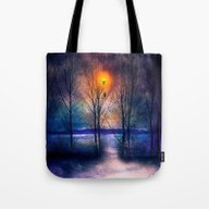 Winter Sonata II Tote Bag