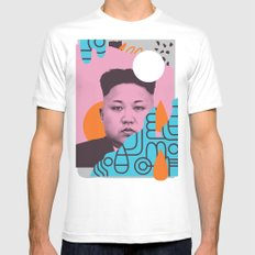 Kim Jong Fun! Mens Fitted Tee White SMALL