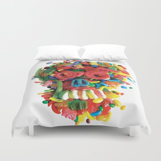 Death and Tooth Decay Duvet Cover