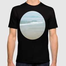 The Ghostly Sea Mens Fitted Tee Black SMALL