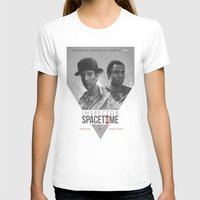 community T-shirts featuring Inspector Spacetime  by Sam Spratt