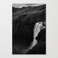 The Plunge - Seljalandsfoss  Canvas Print