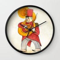 García, tuba Wall Clock