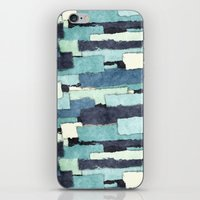 Layers of Colors Pattern iPhone & iPod Skin
