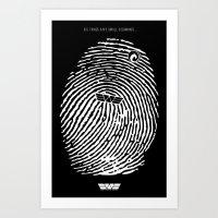 Prometheus. Art Print