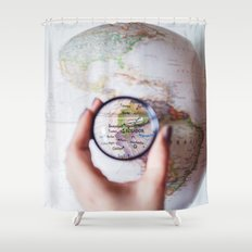 Ecuador  Shower Curtain