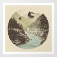 Antigravity (Circle) Art Print