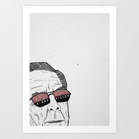 x-ray vision Art Print