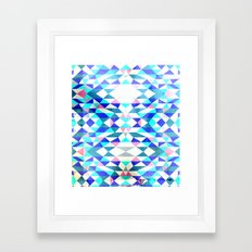 Arctic Swimming Framed Art Print
