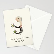 I'm sorry but... Stationery Cards