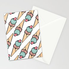 Ice Cream II Stationery Cards