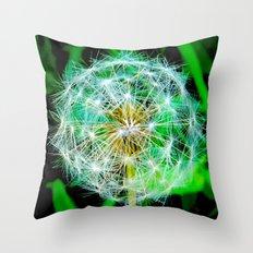Free Wishes Throw Pillow