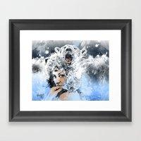 Arctic Tears Framed Art Print