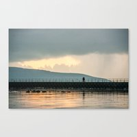 rovin around galway Canvas Print