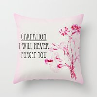 I Will Never Forget You Throw Pillow