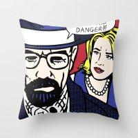 I Am the Danger Throw Pillow