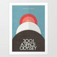 2001 A Space Odyssey - S… Art Print