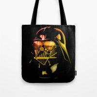 STAR WARS Darth Vader on black Tote Bag