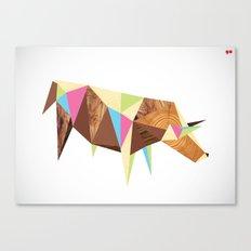 Bull/Market Canvas Print