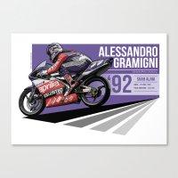 Alessandro Gramigni - 1992 Shah Alam Canvas Print