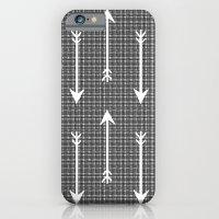 iPhone & iPod Case featuring Arrow Sketch by Jasmine Sierra