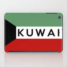 flag of Kuwait iPad Case