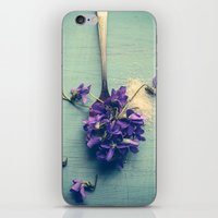Sweet Violets iPhone & iPod Skin