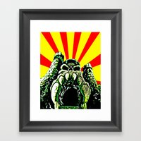 Castle Grayskull (He Man… Framed Art Print
