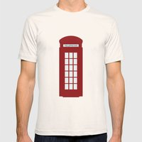 London Mens Fitted Tee Natural SMALL