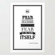 hp quotes: Philosophers Stone Art Print