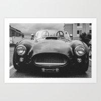 Cobra (3) Matte Black Art Print