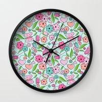 Sweetheart Aqua Wall Clock