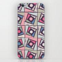 Sponge Print iPhone & iPod Skin