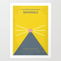 No163 My Ratatouille Min… Art Print