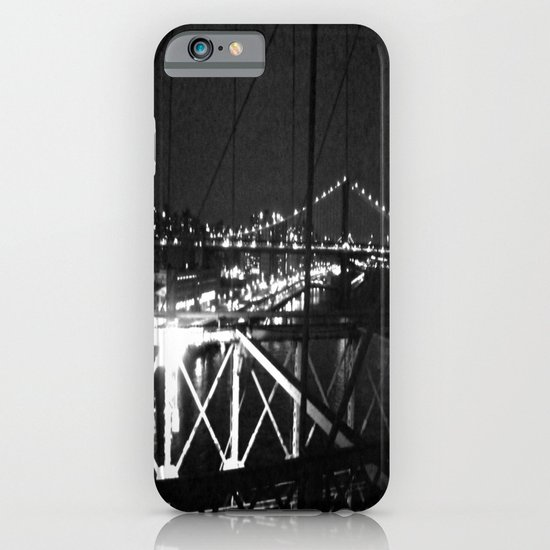 WHITEOUT : Standing 'Top the Bright Lit City iPhone & iPod Case
