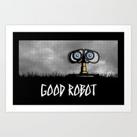 Good Robot Art Print