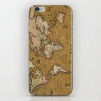 World Treasure Map iPhone & iPod Skin