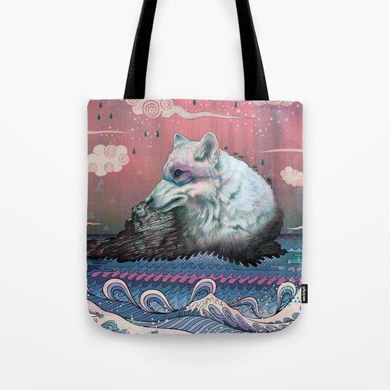 Lone Wolf Tote Bag