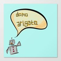 Mr. Roboto Canvas Print