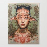 The Dream Thief By Alex … Canvas Print