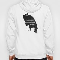 Unbirthday – Alice Silhouette Quote Hoody