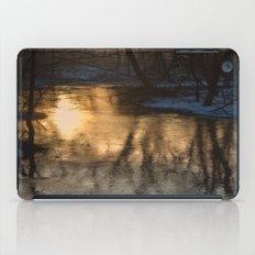 Early Morning Winter iPad Case