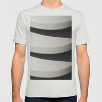 CHIC Mens Fitted Tee Silver SMALL
