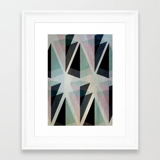 Solids Invasion Framed Art Print