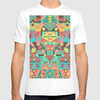 Schema 10 Mens Fitted Tee White SMALL