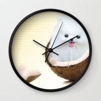 coconutty Wall Clock